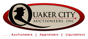Quaker City Auctioneers logo